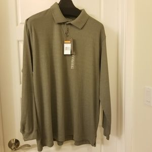 Architect Big & Tall long sleeve Henley Jersey
